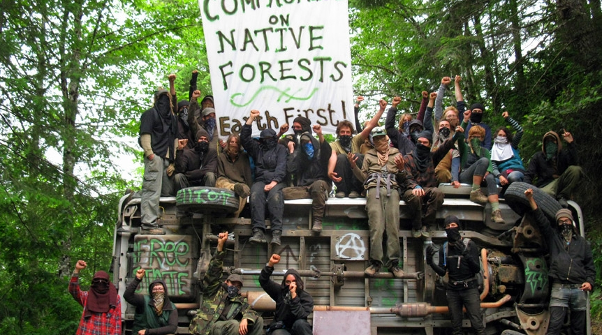 Cascadia Wildlands and Oregon Wild are allies with domestic terrorist