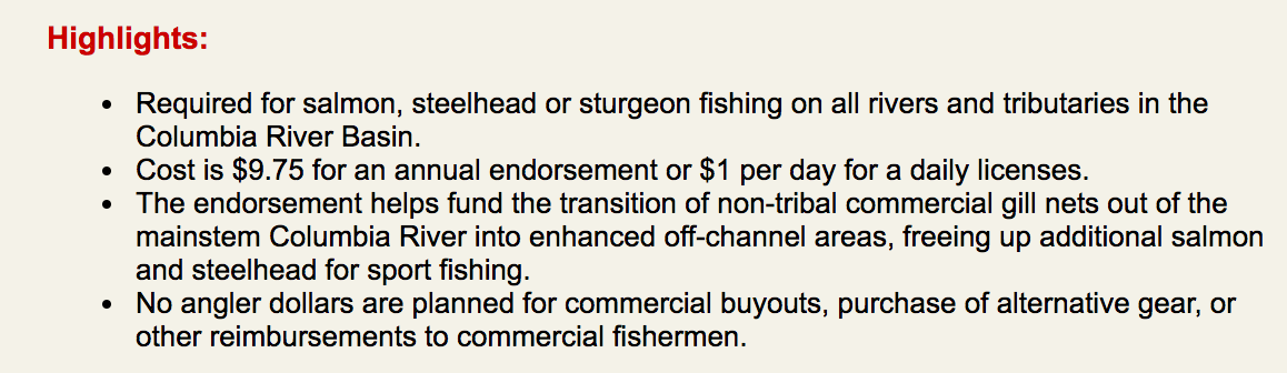 Oregon anglers deserve a refund from oregon department of for Oregon fishing license fees